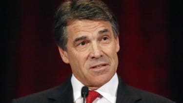 Rick Perry turned down an invitation to meet Obama