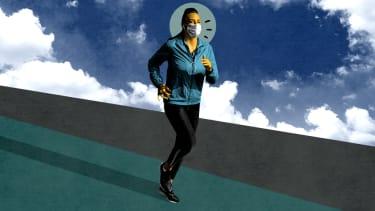 A jogger.
