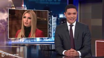 Trevor Noah scorches Ivanka Trump