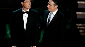 Colbert at Emmys