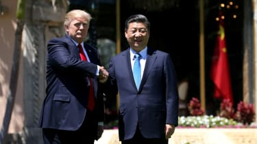 President Trump and Chinese President Xi Jinping.