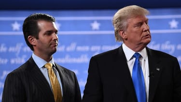President Trump and Donald Trump Jr.