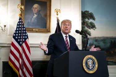 trump speaks about supreme court