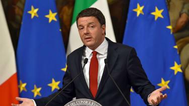 Italian Prime Minister Matteo Renzi's job is on the line Sunday