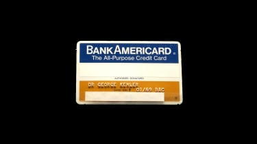 One of the first credit cards.