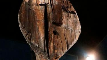 Scientists closer to understanding mysterious markings on the world's oldest wooden statue