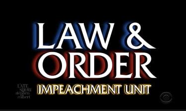 Late night TV recaps Trump impeachment trial