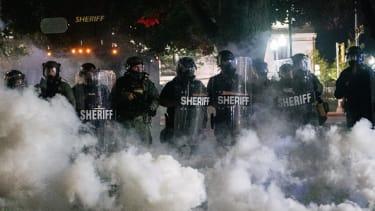 Law enforcement in Kenosha, Wisconsin.