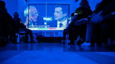 A Bloomberg watch party of Las Vegas debate