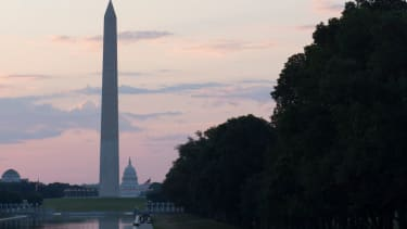US Capitol and Washington Monument.