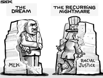 Editorial Cartoon U.S. Martin Luther King