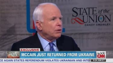John McCain: Russia is a 'gas station masquerading as a country'