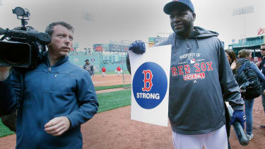The 'B Strong' logo is trademarked — and it might land the Red Sox in court
