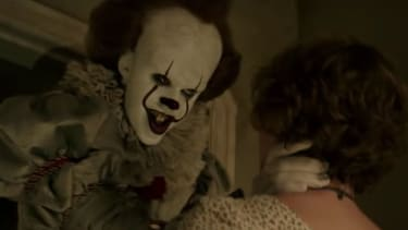 Pennywise from the movie It.