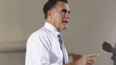 Mitt Romney campaigns in Virginia on June 27: Romney has come under fire for possibly misrepresenting when exactly he left Bain Capital, and if reports are true, it could cause him some legal
