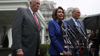 Steny Hoyer, Nancy Pelosi, Chuck Schumer