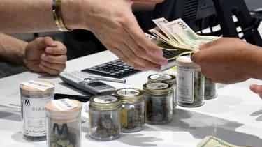 A legal recreational marijuana purchase in Nevada