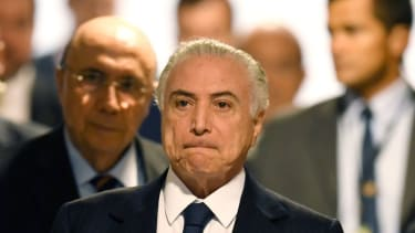 Brazilian President Michel Temer charged with corruption
