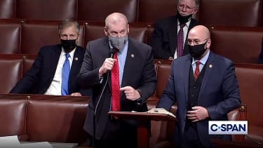 Congress nearly erupts into a fistfight