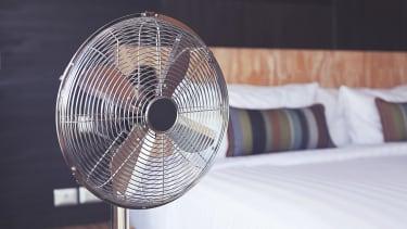 Electric fan.