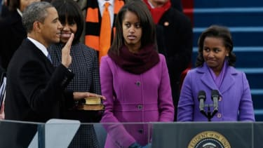 The second inauguration
