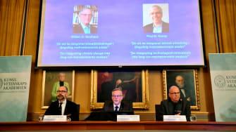 2018 Nobel prize in Economics winners being announced.