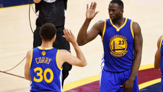 Warriors take Game 4 of the NBA finals in Cleveland