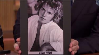 Chris Pratt tells the strange story behind his ridiculous first headshot