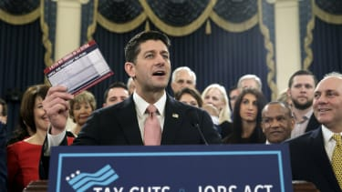 Paul Ryan and his trusty postcard.