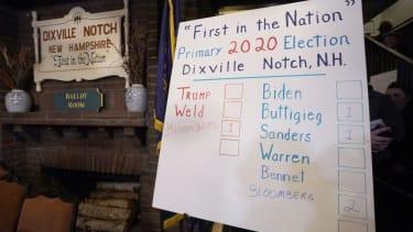 Dixville Notch picks Bloomberg