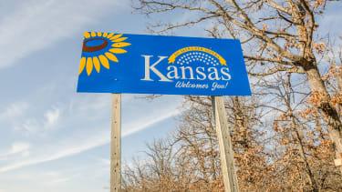 A Kansas sign
