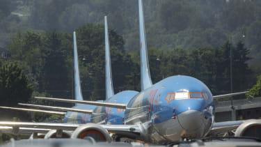 Boeing 737 MAX planes.