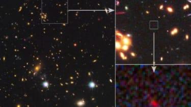 Distant galaxy