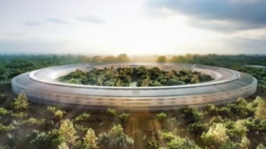 """""""Apple Campus 2"""" will be approximately 2.8 million square feet and feature a 1,000 seat auditorium, fitness center, underground parking, among other amenities."""