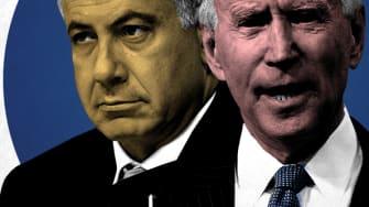 President Biden and Benjamin Netanyahu.