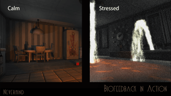 This new video game reacts to your physical responses.