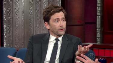 David Tennant tells Stephen Colbert about the new Doctor