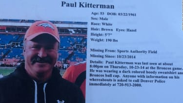 Missing Broncos fan 'had his fill of football' and went for a walk