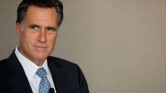 Sen. Mitt Romney.
