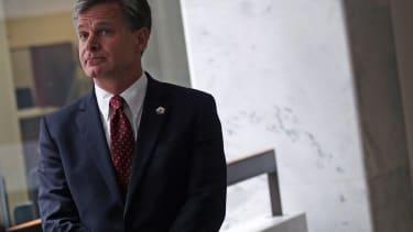FBI director nominee Christopher Wray.