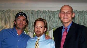 Luke Perry, Michael O'Neil and Sherrod Brown.