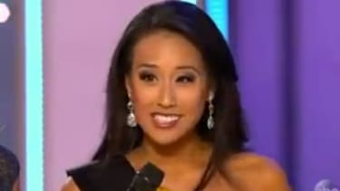 Miss California Crystal Lee