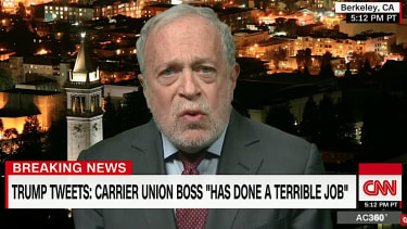 Robert Reich begs Donald Trump to grow some thick skin