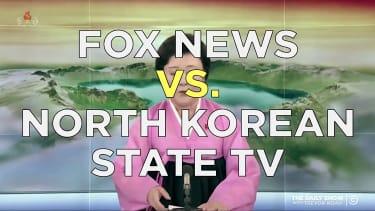 Fox News versus North Korean state TV