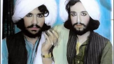These glossy Taliban passport photos will make you do a double take