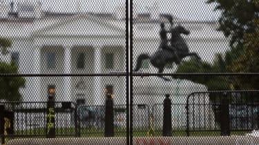 New fencing around the White House