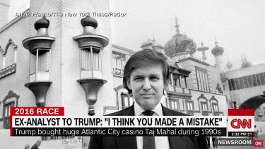 CNN digs into Donald Trump's 1990s troubles