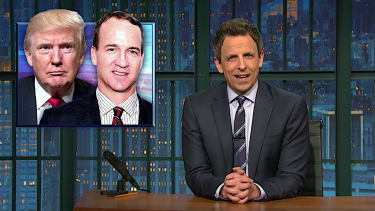 Seth Meyers looks at Donald Trump voter fraud claims