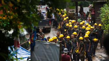 Thailand cave rescue.
