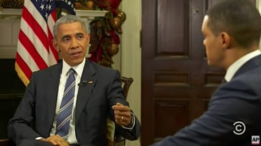 President Obama sits down with The Daily Show's Trevor Noah